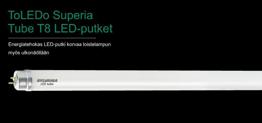 ToLEDo Superia Tube T8 LED-putket